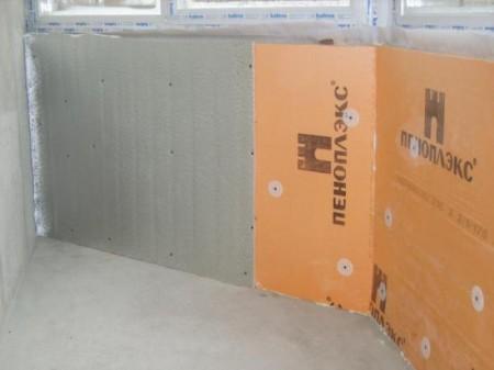Пеноплекс для утепления балкона изнутри