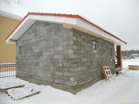 Строительство бани из шлакоблоков - самый дешевый вариант