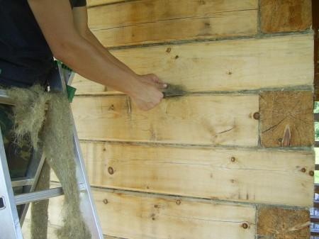 Утепление во время возведения стен сэкономит материалы