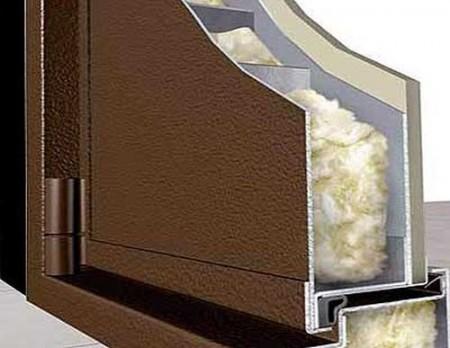 Готовые утепленные металлические двери