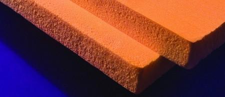 Плиты оригинального пеноплэкса всегда оранжевого цвета