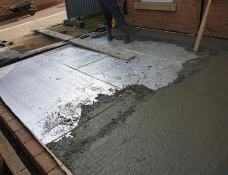 Утепление под бетонную стяжку