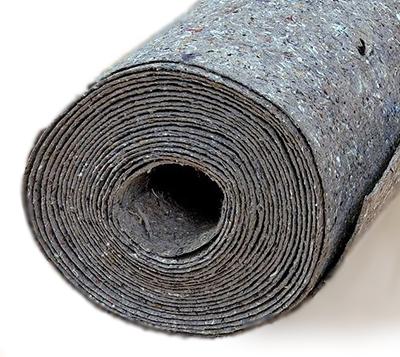 Рулонный утеплитель на основе джгута, шерсти и льна