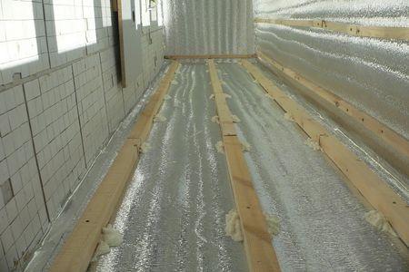 Теплоизоляция балкона