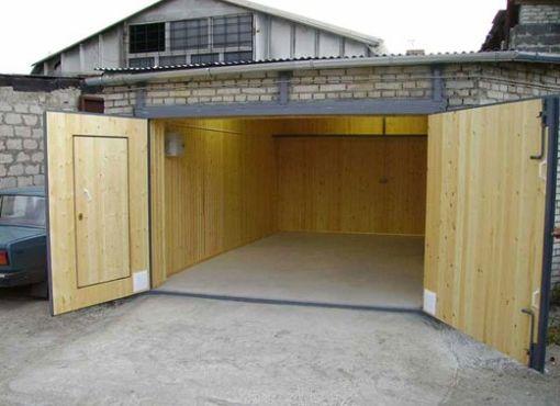 Утеплить и обшить металлический гараж купить гараж в митино аметист
