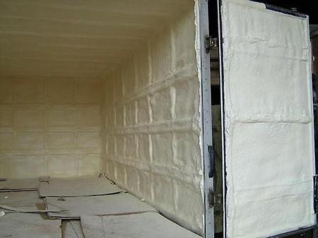 Утепление гаража монтажной пеной