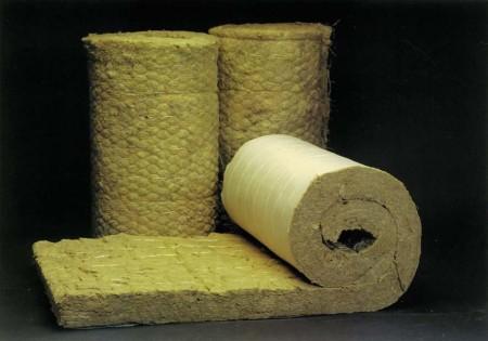 Минеральная базальтовая вата в рулонах
