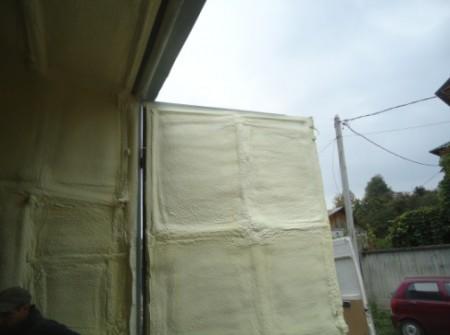 Утепление гаражные ворот пенополиуретаном