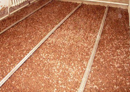 Керамзит – гигроскопичный материал