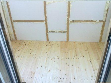 Пенопласт для утепления стенки на балконе