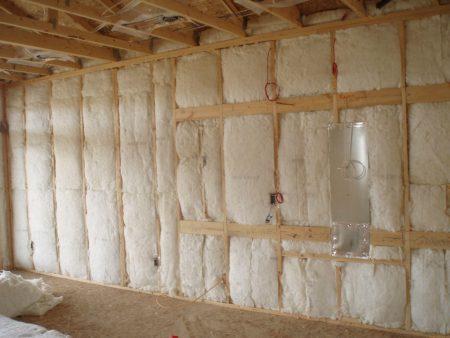 Внутреннее утепление деревянного дома минватой